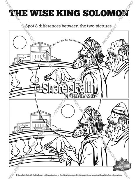 king solomon coloring sheets google search clip art pinterest wisdom of solomon kids spot the difference kids spot the
