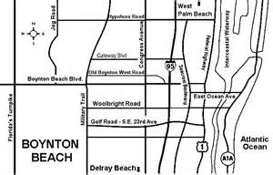 map of boynton florida map of boynton boynton