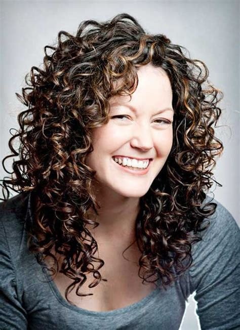 layered hair for more volume on crown trendy layered long curly hair natural curls pinterest