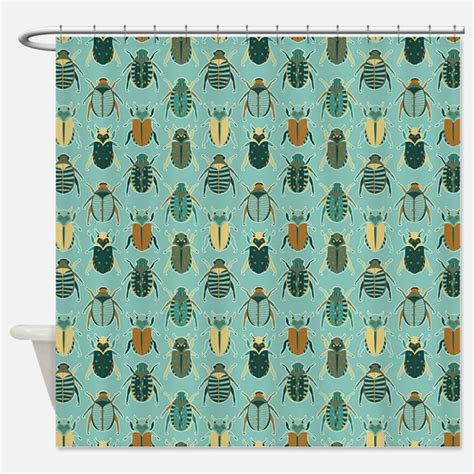 bug shower curtain beetle shower curtains beetle fabric shower curtain liner