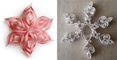 How To Make Ornaments Out Of Paper - two diy paper snowflakes most popular posts apartment