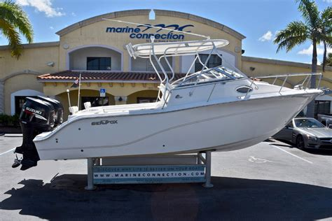 used walkaround boats for sale by owner used 2009 sea fox 256 walk around boat for sale in west