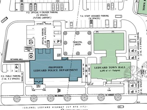 police station floor plans plans for new police station coming right up ledyard ct
