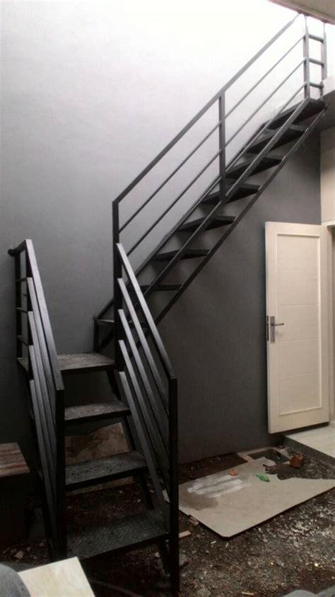 gambar model tangga rebah minimalis   Bengkel Las listrik