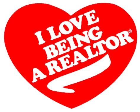 being a realtor i love being a realtor heart red from linda mortensen