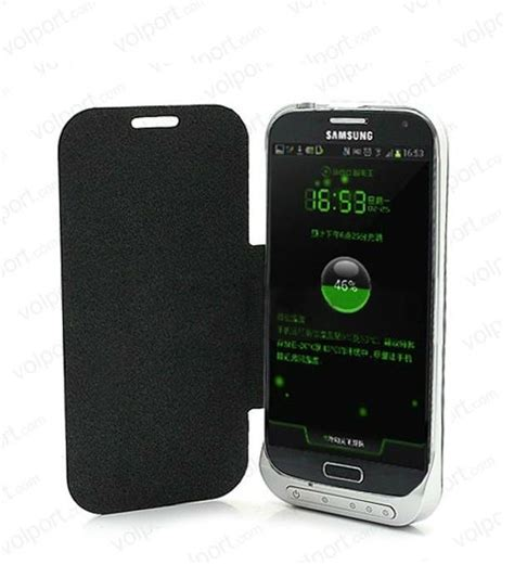 Power Bank Samsung Galaxy V 3300mah power bank leather flip backup battery for samsung galaxy s iv s4 for samsung