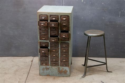 Vintage Industrial Cabinets by Oh Hello Friend