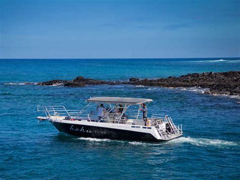 hoku boats alii ocean tours kailua kona hi private charters