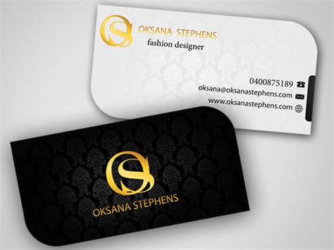 fashion design business cards templates free 68 business cards for designers free premium templates