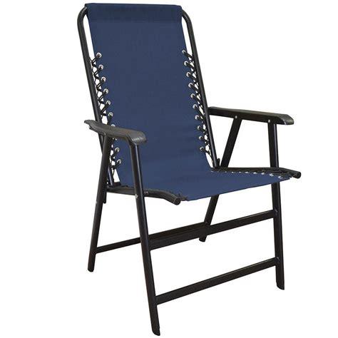 Folding Chair - suspension folding chair blue caravan canopy