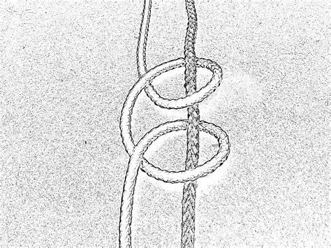 Macrame History - file macrame clove hitch right jpg wikimedia commons