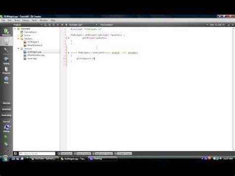 qt help tutorial full download qt tutorial 3 opengl glwidget