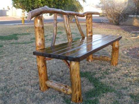 outdoor log furniture ocassional tables log furniture az