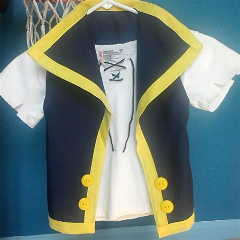 pattern for jake and the neverland pirates costume jake and the neverland pirates costume tutorial craft