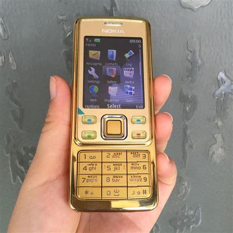 Hp Nokia Murah Baru jual nokia 6300 classic gold editon rekondisi hape jadul
