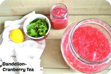 Dandelion Tea Cranberry Detox by Dandelion Cranberry Tea For Weight Loss Jillian