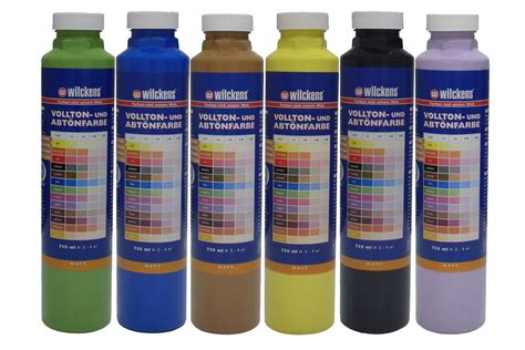 acrylic paint mixer wilckens tinting paint mixing acrylic painting 6 colours 750ml