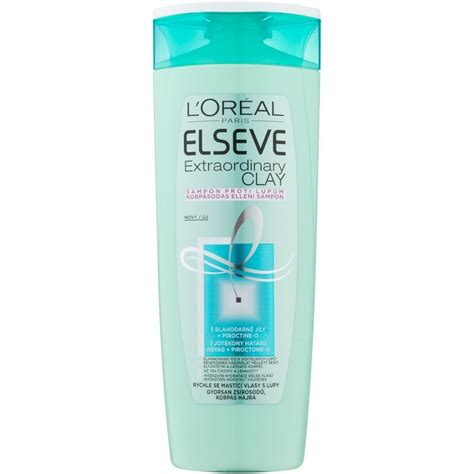 Loreal Extraordinary l or 201 al elseve extraordinary clay ch 250 anticaspa