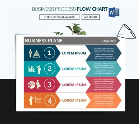 44 Flow Chart Templates Free Sle Exle Format Download Free Premium Templates Business Process Flow Template