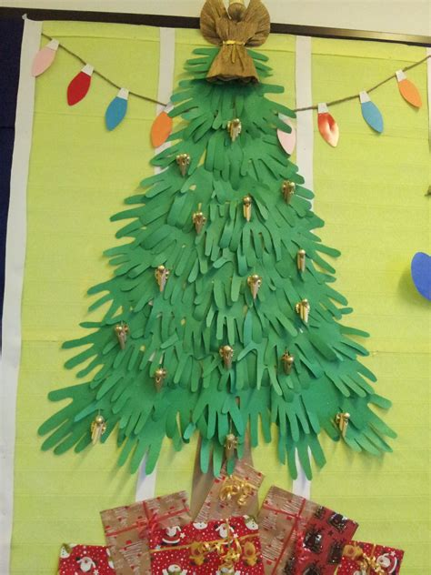 paper christmas tree bulletin board paper tree bulletin board and door decoration