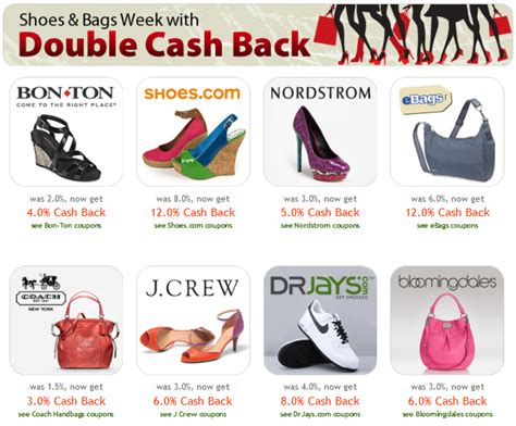 Ebates Gift Card Instead Of Check - ebates shoes bag week earn 3 12 cash back select merchants free 10 gift