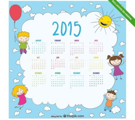 Calendario Mexicano Con Nombres 2015 Cinco Calendarios 2015 Para Personalizar E Imprimir