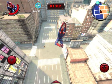 swinging man game the amazing spider man game giant bomb