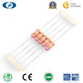 5 band fusible resistor color code 5 band color coding 1 4w 1w metal fuse resistor buy metal resistor fuse resistor 0