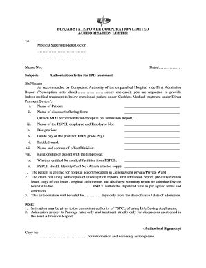 authorization letter to pull permit authorization letter to claim forms and templates