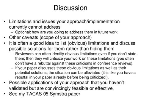 how to write discussion scientific paper how to write research papers