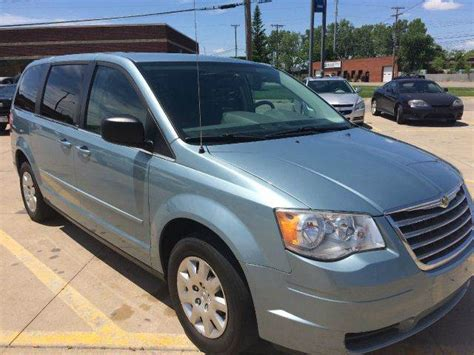2009 Chrysler Town And Country Lx 2009 Chrysler Town And Country Lx Mini 4dr In