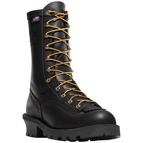 danner work boots danner 174 flashpoint ii all leather work boots black