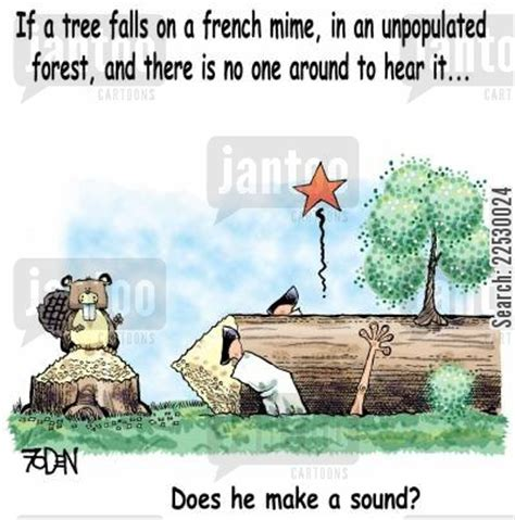 if a tree falls in the forest on the border between the deaf and hearing worlds books mime artists humor from jantoo