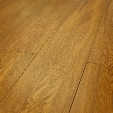 15mm london golden oak v groove embossed laminate flooring