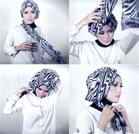 tutorial hijab turban untuk lebaran 2015 tutorial hijab modern turban terbaru 2016