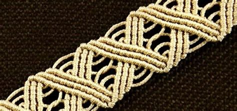 Wavy Macrame ZigZag Bracelet Tutorial « Jewelry :: WonderHowTo
