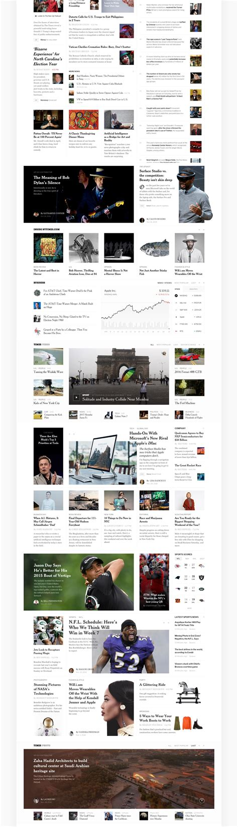 design editor new york times editorial design the new york times redesign concept