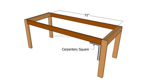 how to build a kitchen table howtospecialist how to