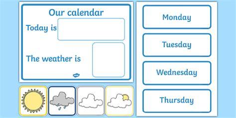 Calendar Weather Daily Calendar Weather Chart Weather Calendar Weather Chart