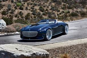 Convertible Mercedes New Mercedes Maybach Convertible Concept Oozes Cool
