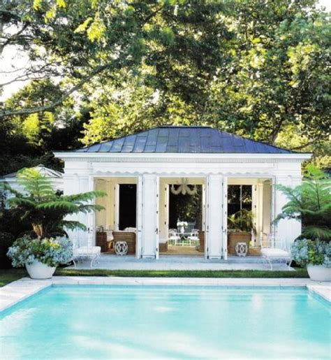 Pool Houses Cabanas | vignette design tuesday inspiration pool houses caba 241 as