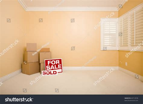 Wardrobe Boxes For Sale by Moving Boxes For Sale And Sold Real Estate Signs On Floor