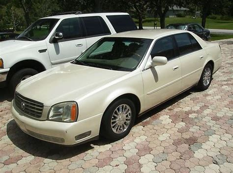 2003 Cadillac Dhs by Find Used 2003 Cadillac Dhs Florida 1 Owner Pearl