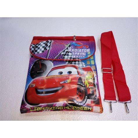 Tas Anak Karakter tas selempang anak karakter cars elevenia