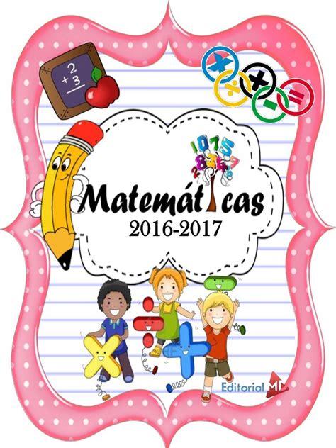 imagenes de matematicas caratulas car 225 tulas para matematicas car 225 tulas para cuadernos