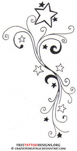 shooting star tattoo designs tattoos shooting and nautical designs