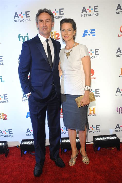 mike wolfe jodi faeth photos 2015 a e networks upfront
