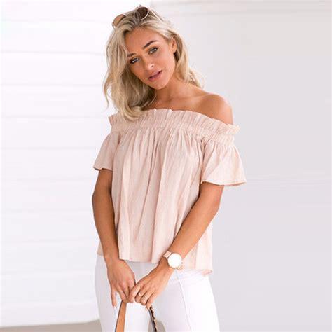 Yk Blz Top Yosi Blouse blouse shoulder ptc 93