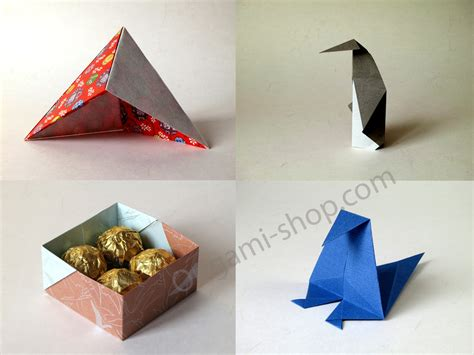 The Origami Shop - origami for all designs from simple folds