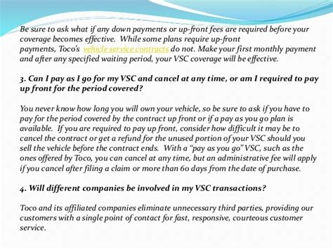 vehicle service contract 4 questions to ask when purchasing a vehicle service contract